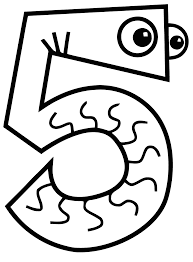 51 Dessins De Coloriage Chiffres Imprimer Sur Laguerche Com Page 4 Coloriage 5 L