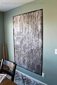 easy diy giant magnetic chalkboard