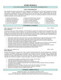bank manager sample resume