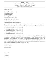 Cover Letter For A Writer Cover Letter Should Include Regarding