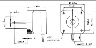3pcs nema17 stepper motor 1 2a 38oz in 25ncm 34mm for step 5pcs nema17 78 oz in cnc stepper motor stepping motor 1 8a wiring