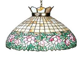 leaded glass chandelier stained glass antique stained glass chandelier