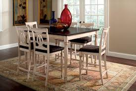 Round Rustic Kitchen Table Black Kitchen Tables Black Tall Kitchen Table With 8 Gray Chairs