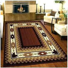 rustic cabin lodge area rugs