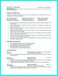 Sample Resume Project Coordinator Interesting Resume Samples Project Manager Inspiration Construction Manager