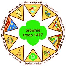 Brownie Kaper Chart Girl Scout Brownie Badges Brownie