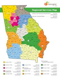 Regional Services Map