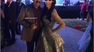 Emma Coronel 'presume' vestido y fiesta con cantante de Los Tucanes de  Tijuana - YouTube