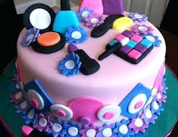 mac makeup cake images birthday designs best cakes ideas on 550x4