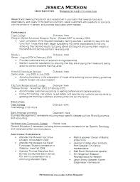 Objective For Resume Receptionist Awesome Resume Objective Examples Veterinary Receptionist For Amazing