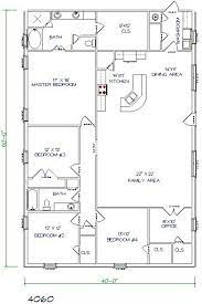 metal house plans barn homes floor