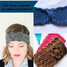 Crochet Headband Pattern Beauteous 48 Free And Easy Crochet Headband Patterns