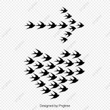 無料ダウンロードのための鳥が飛ぶ 女の子 シルエット ハート型png画像素材