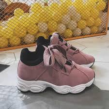 AGUTZM <b>2019 Women Sneakers</b> Pink <b>Women</b> Casual <b>Shoes</b> ...