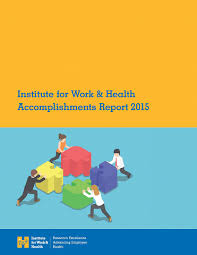 Corporate Reports | Institute For Work & Health