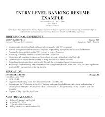 Example Of Entry Level Resume Mesmerizing Entry Level Resume No Experience Entry Level Resume No Experience