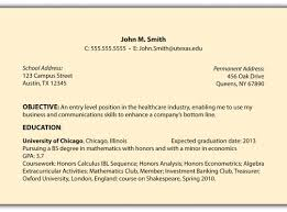 Sample Of Career Objectives For Resume General Sample Resume Objective Samples Of Resumes Objectives 26