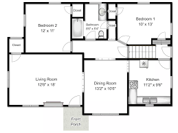 simple floor plans with dimensions.  With Floor Plans With Dimensions Modern House Inside Simple N
