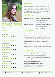 Nursin Resume Free Nursing Resume Cv Template In Photoshop Psd