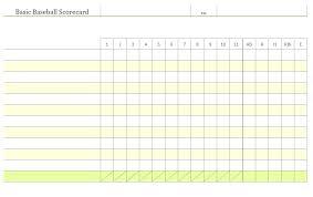 Golf Football Stats Template High School Sheets Free