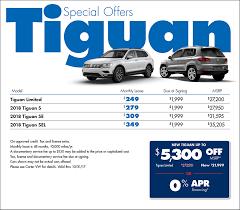 2018 volkswagen lease deals. wonderful deals 2018 volkswagen tiguan lease u0026 sales specials in seattle  for volkswagen lease deals t