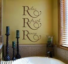 diy bathroom wall decor. Beautiful Wall Bathroom Wall Decor Pinterest Ideas About Spa On Bathrooms  Diy  Intended Diy Bathroom Wall Decor F