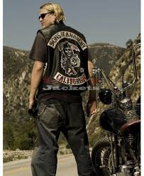 sons of anarchy jax teller motorcycle vest with patches