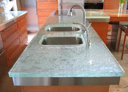 glass work tops