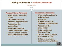 Example Sales Action Plan Sample Commercial Excellence Sales Plan Example