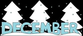 December Snow Clipart