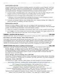 Investment Banking Resume Template Berathen Com. investment ...