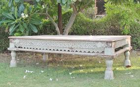 temple day bed coffee table gujarat sold