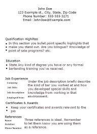 Bartenders Job Description For A Resume Best of Banquet Server Job Duties Description For Resume And Bartender