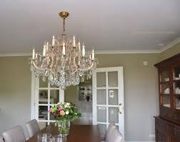 Kristallkronleuchter Maria Theresia Im Esszimmer