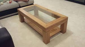 coffee table with glass top amazing oak coffee table with glass top also decorating home ideas