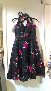 Grace Karin Womens Halter 50s Vintage Swing Dress For