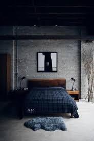 industrial design bed. Unique Design Gloomy Industrial Bedroom In Design Bed L