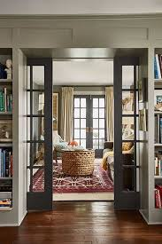 great sliding glass office doors 2. new french doors invite daylight to flow through the den and living room pocket between rooms slide closed for sound control great sliding glass office 2 n
