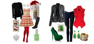 2014 Outfits  LatestChristmasPartyOutfits20132014Polyvore Christmas Party Dress Ideas