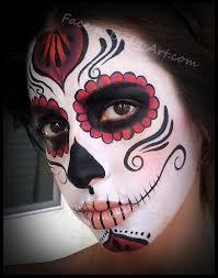 clic sugar skull makeup