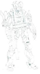 halo coloring pages halo elite coloring pages to print