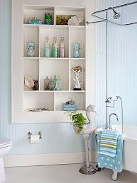 Creating Storage Space in your Bathroom with Built In Cabinets - Beneath My  Heart