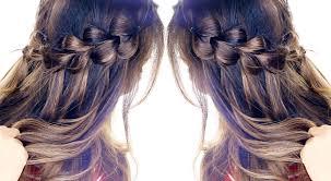 Hairstyle Waterfall pullthrough waterfall braid hairstyle easy hairstyles 4159 by stevesalt.us
