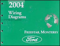 2004 ford star mercury monterey wiring diagram manual original
