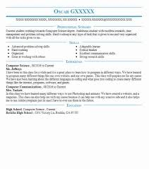 Computer Science Resume Interesting EyeGrabbing Computer Science Resumes Samples LiveCareer