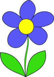 Image result for clipart blue flowers for pdf