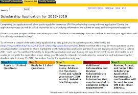 scholarship application preview university of michigan flint step 1