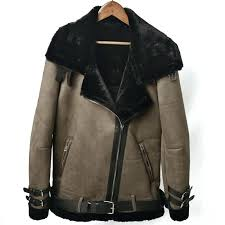 fur lined coat vintage fashion fur lined coats autumn winter warm fur leather jackets overcoats thick fur lined coat