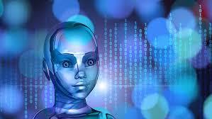 Artificial intelligence 1080 download computer wallpaper : Hd Wallpaper Binary Code Blue Technology Adroid Ai Artificial Intelligence Wallpaper Flare
