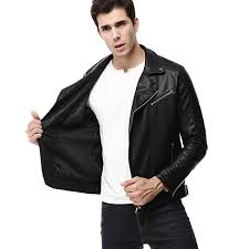 2018 motorcycle leather jackets men er jacket mens leather jackets and coats men s spring autumn pu jacket de couro coat 3xl